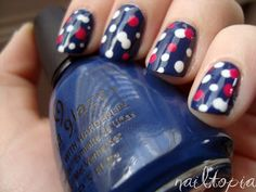 Ive already been informed that kelsies wants red,white and blue nail polish for the 4th of July!