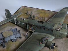 Ju-52 Front wschodni-1/48 - Forum Modelarskie