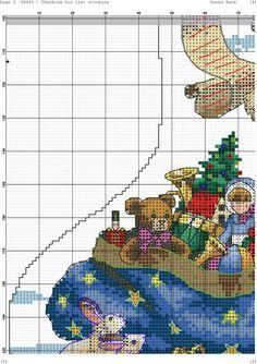 Santa with List Stocking 6/6