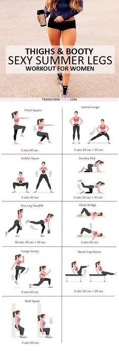 Repin and share if this workout gave you sexy summer legs! Read the post for all the info!