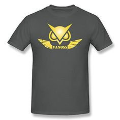 GOOOET Mens Golden VanossGaming Logo Cotton TStar Wars Shirts Asphalt L -- You can get more details by clicking on the image.