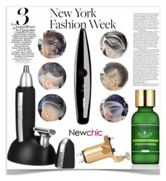 """NewChic"" by kiveric-damira ❤ liked on Polyvore featuring beauty"