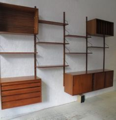 Floating Wall Shelving Systems