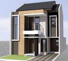 desain rumah 2 lantai ukuran 6x10