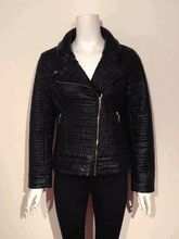 Biz black quilted jacket