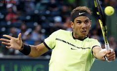 Rafa Nadal supera a Sela y al viento en su debut en el Masters 1000 de Miami