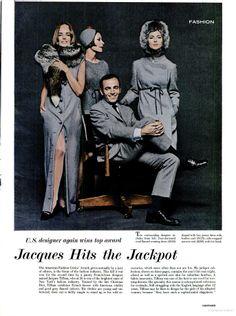 1964 Fashion by Jacques Tiffeau