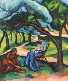 Perlrott-Csaba, Vilmos, The Kecskemet Colony, 1911 Matisse, Paintings, Portraits, Park, People, Cubism, Paint, Painting Art, Head Shots