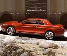 2017 ford thunderbird redesign