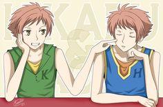 Hikaru and Kaoru