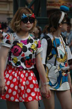 TOKYO DISNEY FASHION.