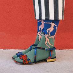 Dalla Gioconda a Frida Kahlo: i quadri finiscono sulle calze #art #fashion