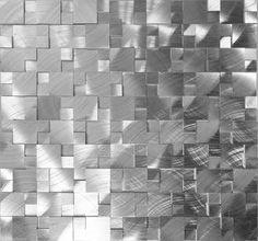 Sample 3D Metal Stainless Steel Patern Mosaic Tile Wall Sink Kitchen Backsplash | eBay