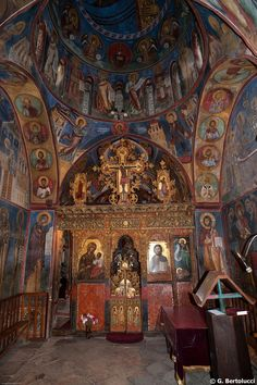 """Cyprus Lagoudera Village """"Panagia tou Araka"""" church. It is a listed UNESCO World Heritage Site and it contains some of the finest frescoes of the late Comnenian style (1192)."""