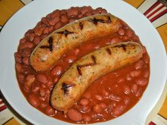 red beans bbq