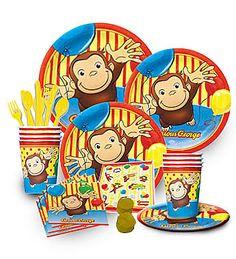 Curious George Birthday Economy Kit Curious George Party, Curious George Birthday, Birthday Supplies, Party Supplies, 2nd Birthday Parties, Birthday Ideas, Birthdays, Party Ideas, Kit
