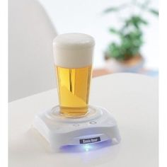 NEW Takara Tomy Arts Sonic Hour White Beer Bubble Maker Frother JAPAN