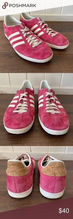 2adidas gazelle rosa 40 2/3