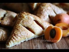 Apricot Turnover Recipe - Easy Dessert Recipes - Heghineh Cooking Show - http://2lazy4cook.com/apricot-turnover-recipe-easy-dessert-recipes-heghineh-cooking-show/