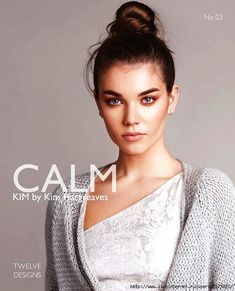 CALM by Kim Hargreaves - Twelve new designs for Spring which can be worn all year round Knitting Books, Crochet Books, Hand Knitting, Knit Crochet, Knitting Magazine, Crochet Magazine, Sweater Knitting Patterns, Knit Patterns, Knitting Ideas