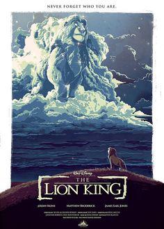 The Geeky Nerfherder: #ArtOfTheDay:'The Lion King' by Nicolas Alejandro Barbera