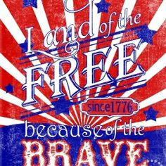 Land of the Free Print