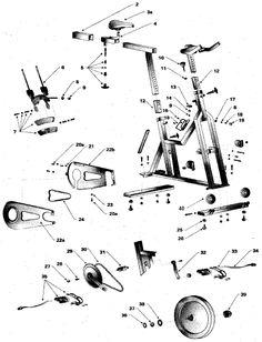 d437dfb499c72e95caab4375a9d4fd1d bike parts spinning 23 best exercise bike parts images bike parts, parts of bike, spin