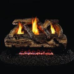 Ventless Gas Fireplace Logs for a Great Fire