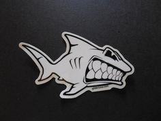 Sharky! Surf Sticker Decal