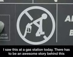 I Saw This A The Gas Station Today,  Click the link to view today's funniest pictures!