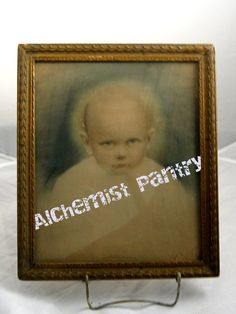 12 x 15 Framed PHOTO image Hand Colored FREAKY by AlchemistPantry