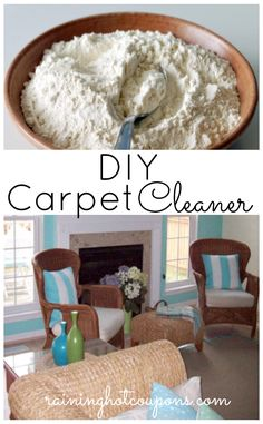 carpet cleaner is way too expensive and loaded with chemicals. make it yourself!