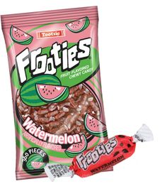 Frooties are a soft, chewy, bite-sized candy that bursts with a fresh watermelon flavor! Raspberry Fruit, Strawberry Lemonade, Bulk Candy, Candy Shop, Chewy Candy, Fruit Punch, Lemon Lime, Bite Size, Fresh Fruit