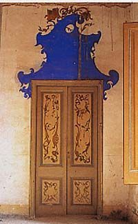 Through the French eye of design: THE DECORATED DOOR