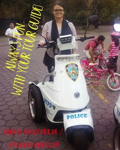 Why pay a licensed tour guide for your sightseeing? Besides knowledge & human gps functionality? You have FUN! Here's Danish tour guide Maria on one of the NYPD vehicles in Flushing Meadow Corona Park... Of course the tourists got their similar photo!  #nycandtours #turistinewyork #sightseeing #touring #tourguide #guide #newyorkrejsetips #nycrejsetips #danmark #danish #denmark #ferie #vacation #rejs #rejseliv #newyorkcity #flushingmeadowcoronapark #corona #nypd #fun #turengårtilnewyork #nyc…