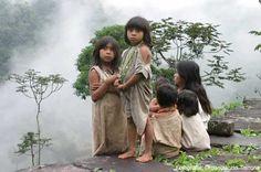 Kogui children Colombia