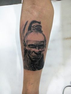 After a long time i got to work on a piece worth uploading.  An amazing realistic Native American portrait I did few days back. Still to add-on a lot of pieces to the sleeve.  Please let me know how you like it.