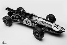 "1967 Eagle Ford Indy 500 #74 ""Dan Gurney"""