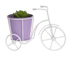 """Doniczka """"Purple Bike"""", 9 x 21 x 13 cm"""