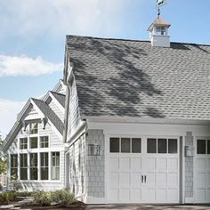 Roof with Cupola - I have always wanted an attached garage that has the doors on the side. As you drive up it looks like the garage is living space.
