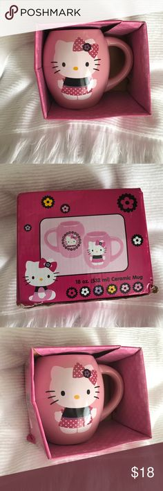 💖 Hello Kitty cup. Never used. Brand new. 💖 Hello Kitty cup. Never used. Brand new. Can use for makeup brushes 😍 perfect for a Hello Kitty lover! Hello Kitty Accessories
