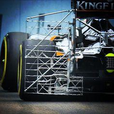 Free practice under way at #SingaporeGP with fascinating aerodynamic testing by @saharaforceindiaf1 #F1 #FP1 #Formula1 #F1NightRace #MarinaBayStreetCircuit #saharaforceindia @f1nightrace by f1