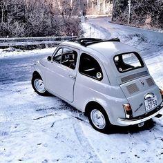 500 My Dream Car, Dream Cars, Fiat 500 S, Fiat Cinquecento, Italy Winter, Morris Minor, Steyr, Jaguar E Type, Old Cars