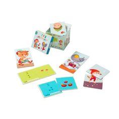 LILLIPUTIENS- Επιτραπέζιο παιχνίδι αντιστοίχισης με αρίθμηση | Cozy Kids - E-Shop Παιδικών Ειδών