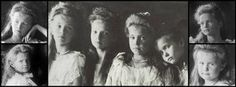Grand Duchess Olga Nikolaievna Romanov, Grand Duchess Tatiana Nikolaievna Romanov, Grand Duchess Maria Nikolaievna Romanov, and Grand Duchess Anastasia Nikolaievna Romanov. OTMA timeline cover by ~OTMARomanova on deviantART