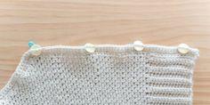 Crochet Cardigan Pattern, Crochet Jacket, Crochet Stitches Patterns, Baby Knitting Patterns, Half Double Crochet, Single Crochet, Crochet Hooks, Free Crochet, Linen Stitch