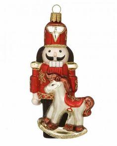 Nutcracker Ornament Nutcracker Ornaments, Christmas Ornaments, Nutcrackers, Waterford Crystal, Royal Doulton, Fine Porcelain, Pottery Art, Crystals, Holiday Decor