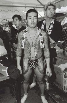 1998 - Asakusa - Yakuza - Bruce Gilden