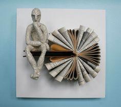 Book sculpture by Daniel Lai 5