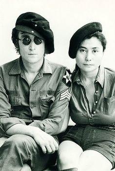 John and Yoko army by rising70, via Flickr